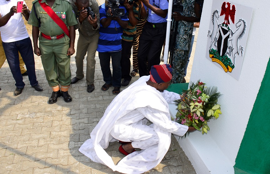 Aregbesola Launches 2018 Armed Forces Remembrance Emblem Monday
