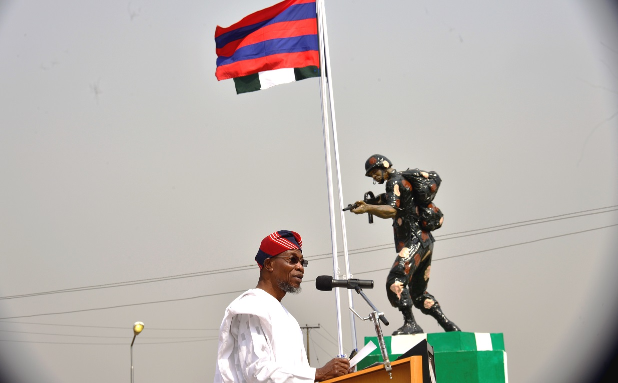 War Is Bad Business Anywhere – Aregbesola