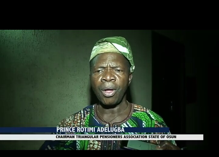 Video: Pensioners Refute Campaign Against Aregbesola on Paris Club Loan Refund