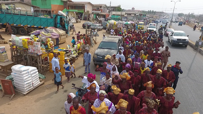 PHOTO NEWS : Pensioners Rally for Aregbesola