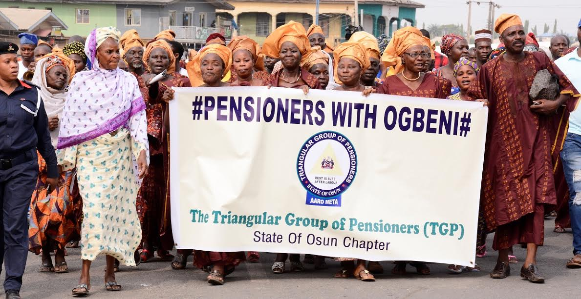 Protesting Retirees And Ritual Killings