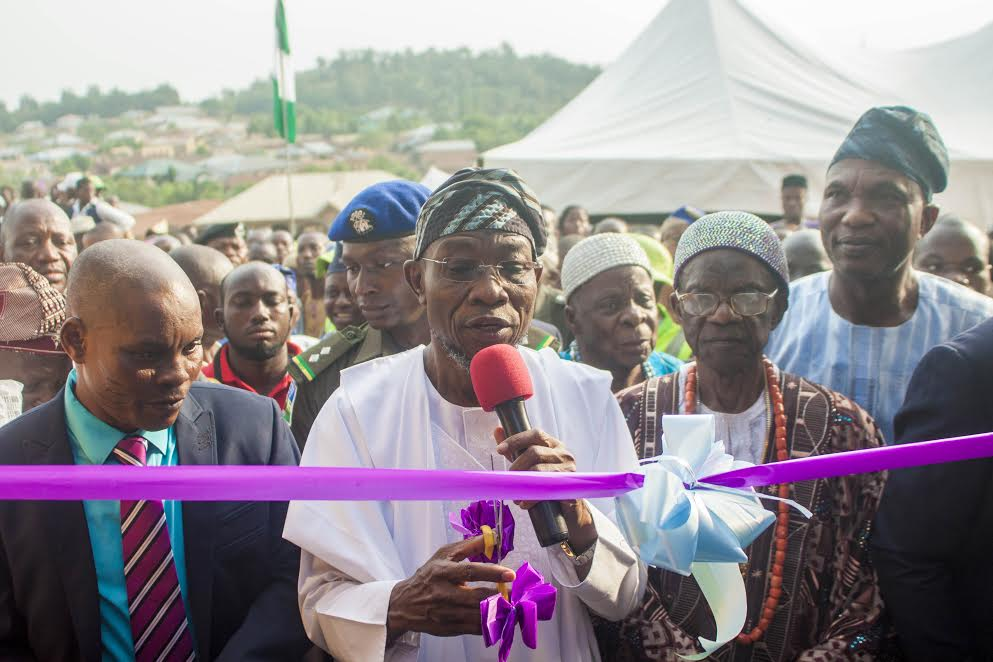 Aregbesola Commissions Newly Constructed Council Secretariat