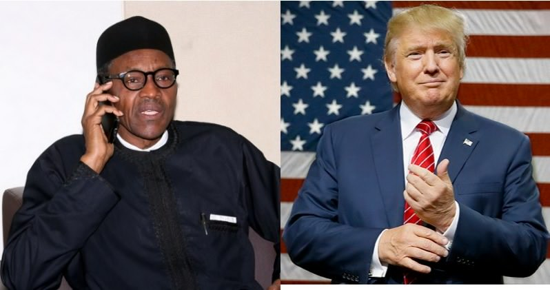 Trump Invites Buhari to Washington
