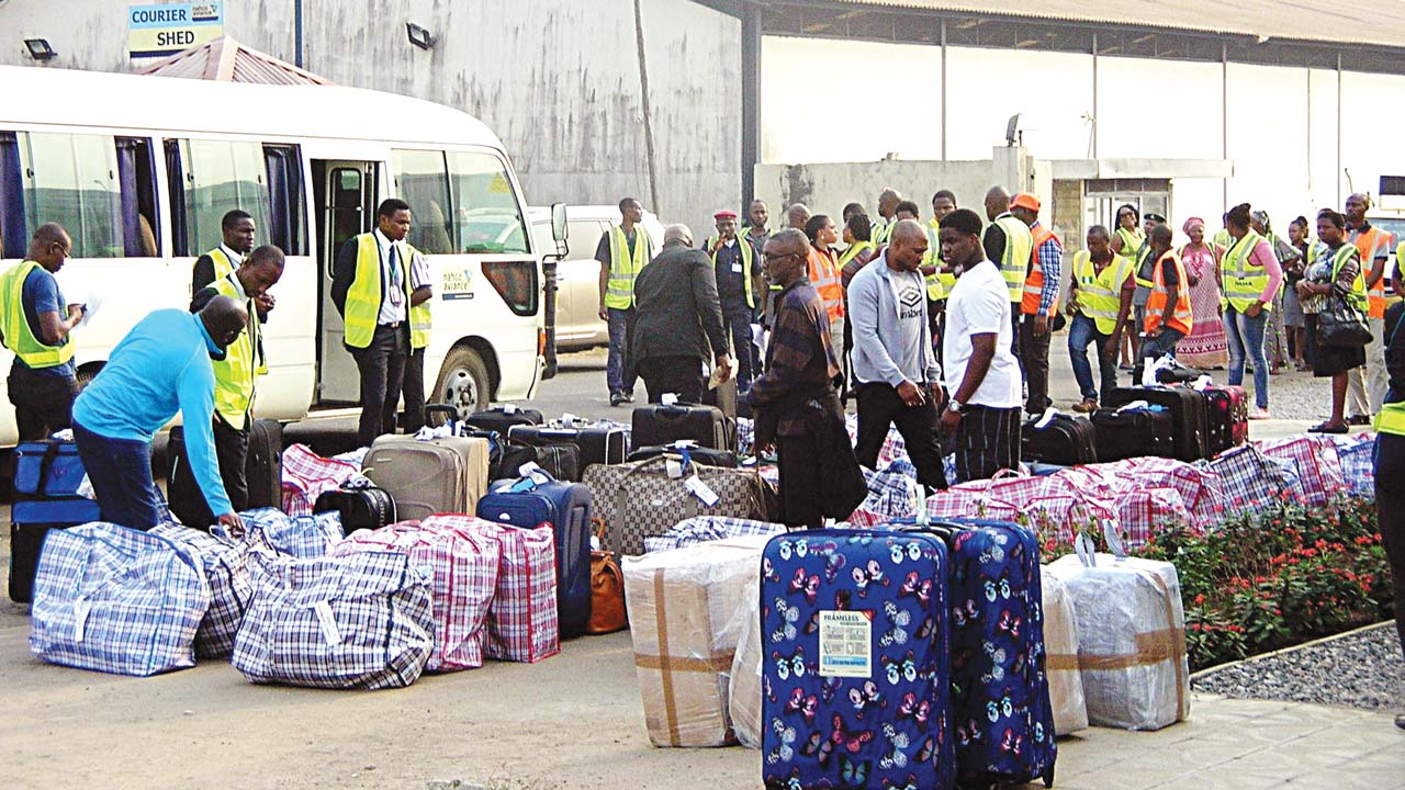 Nigerians deported From Germany, Italy, Belgium