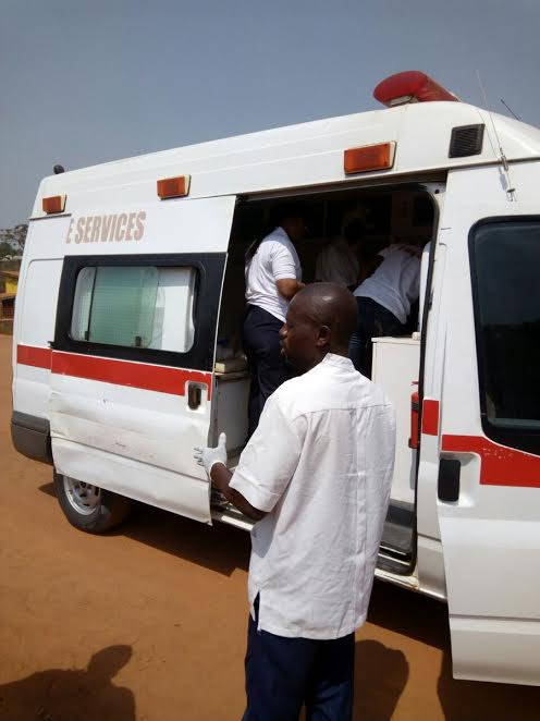 Osun O'Ambulance Saves Pupil