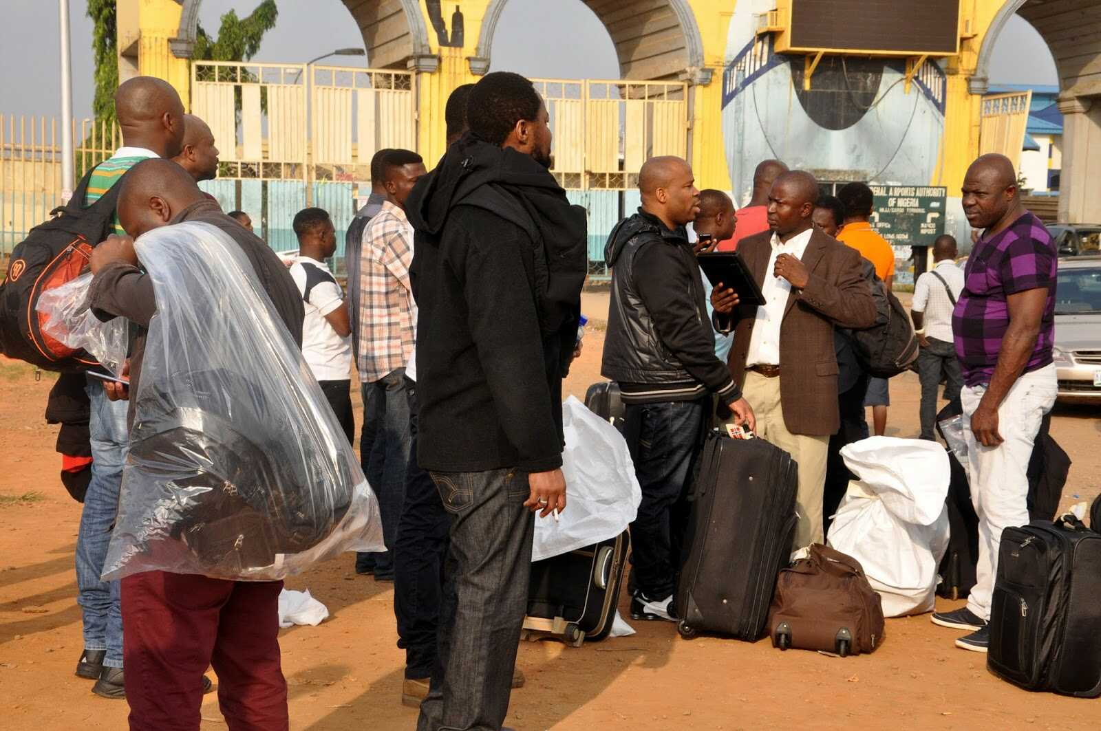 161 Nigerians Back From Libya After Unsuccessful Stay In North African Country