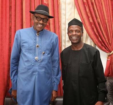 Osinbajo Speaks with Buhari, Says President Will Soon Return