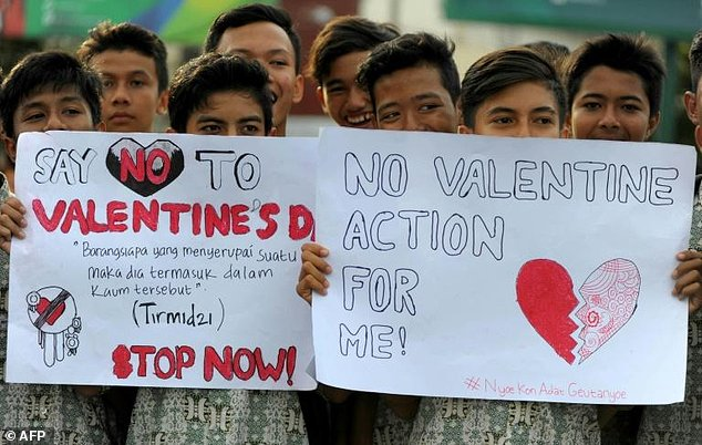 Indonesia Launches anti-Valentine's Day Condom Raids