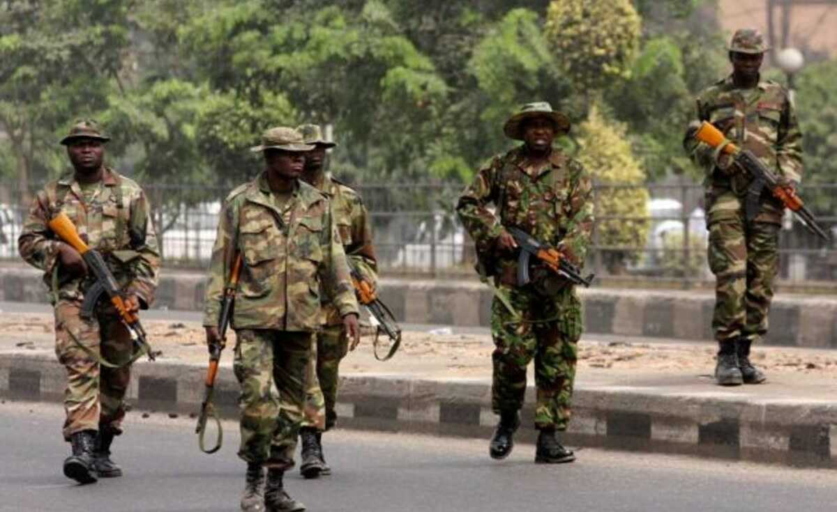 Military Officer Kidnapped In Lagos