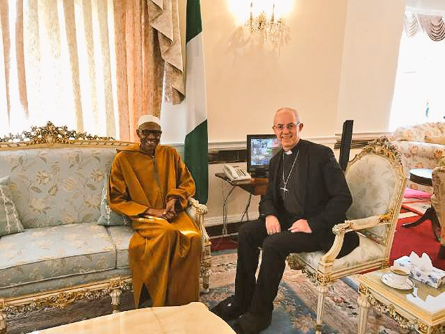 Archbishop Of Canterbury Visits Muhammadu Buhari