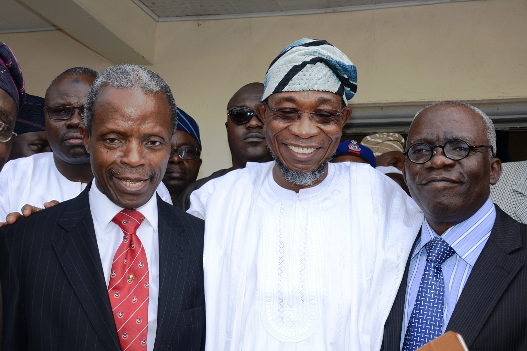 Governor Rauf Aregbesola's Birthday Wish To  Acting President Osinbajo