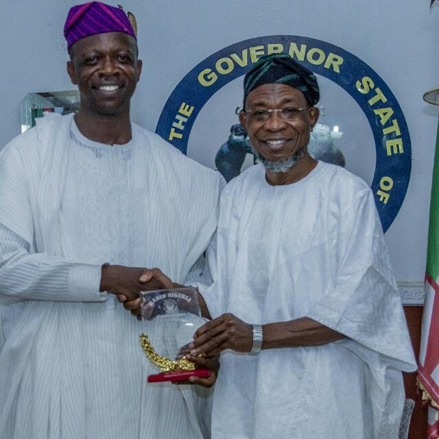South-West, Kwara Assemblies, Senator Laud Oyintiloye on FRCN Award