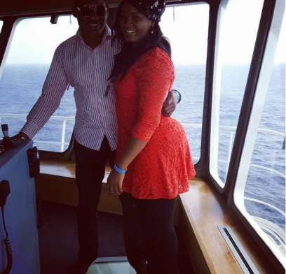 Images of Omotola And Husband Grooving in Morrocco