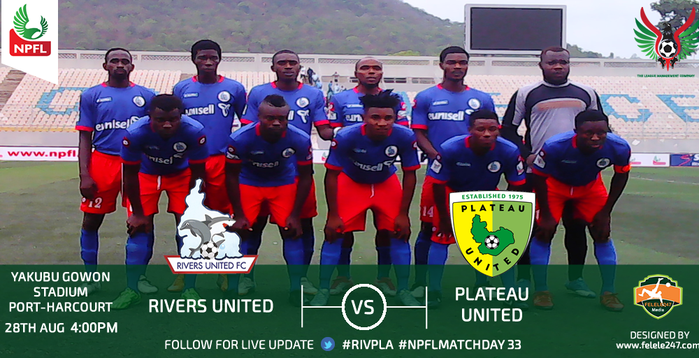 Plateau United Play Out Goalless Draw Against Rivers United