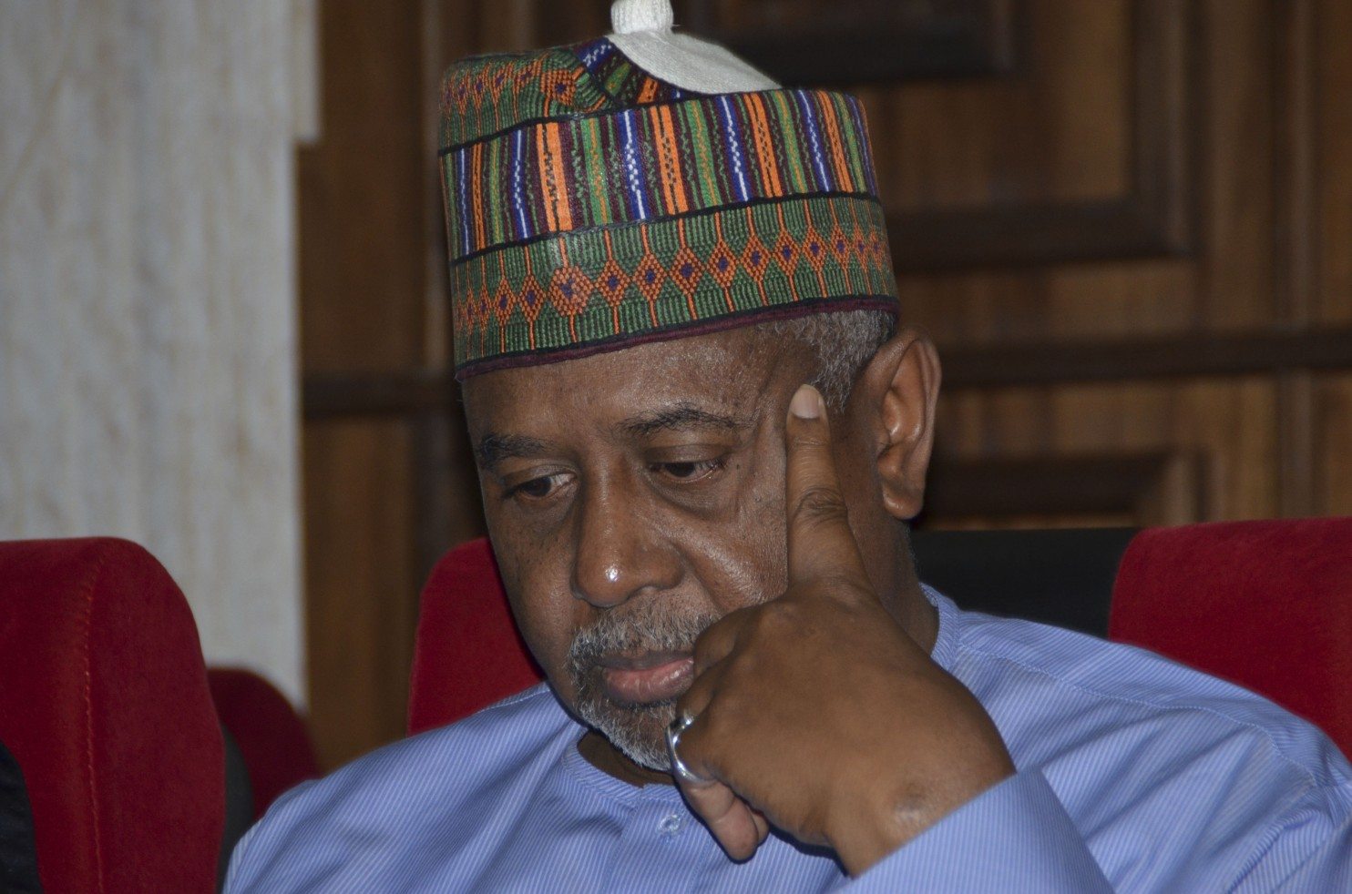 Metuh's Trial: Dasuki In Court, Jonathan Missing