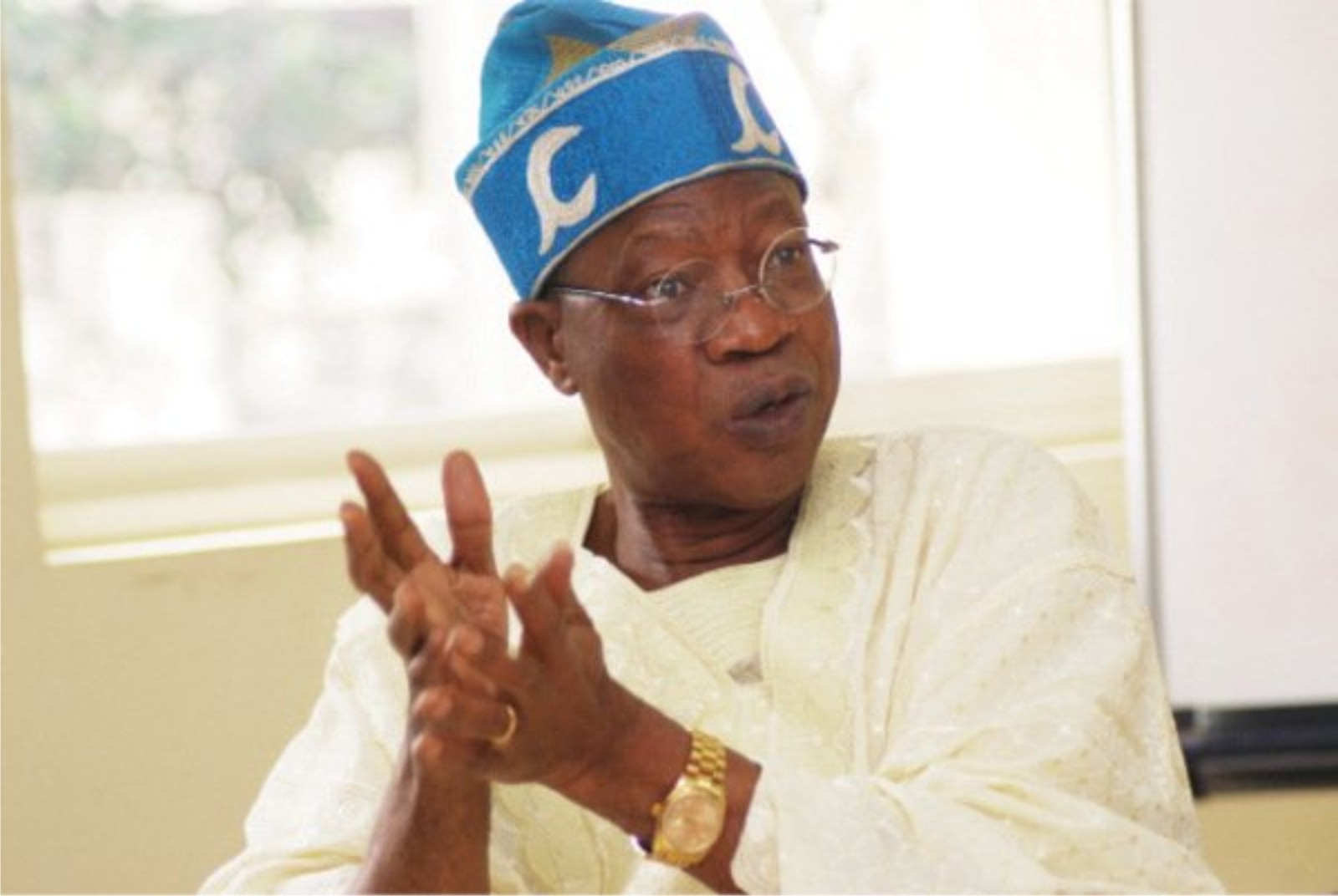 Buhari's Trip To U.S. Is Fake News- Lai Mohammed