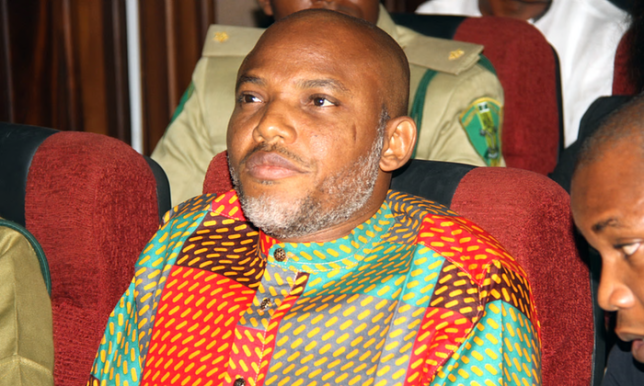 IPOB: Nnamdi Kanu Absent As Trial Of Members Continue