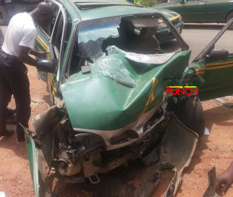 Ogun crash: One Feared Dead, Five Injured