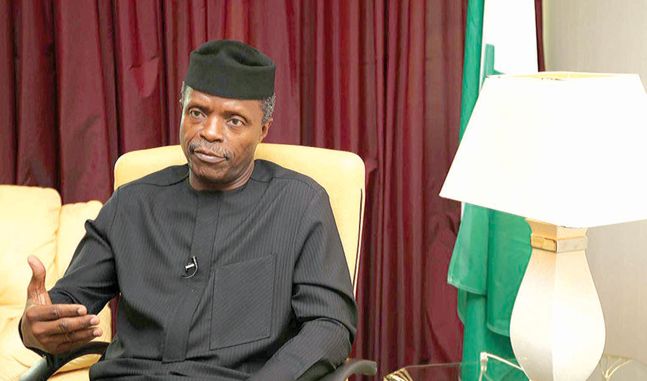 Osinbajo Probe Panel Grills NIA DG