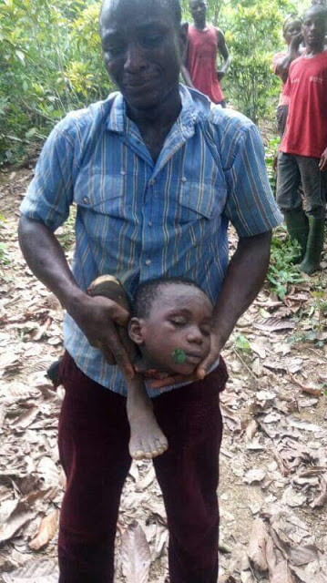 Father Beheads 6 Year-Old-Son, Chops Off His Legs For Rituals (photos)