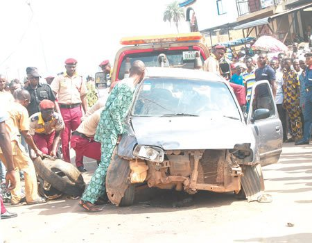 3 Die In Early Morning Multiple Accident In Lagos