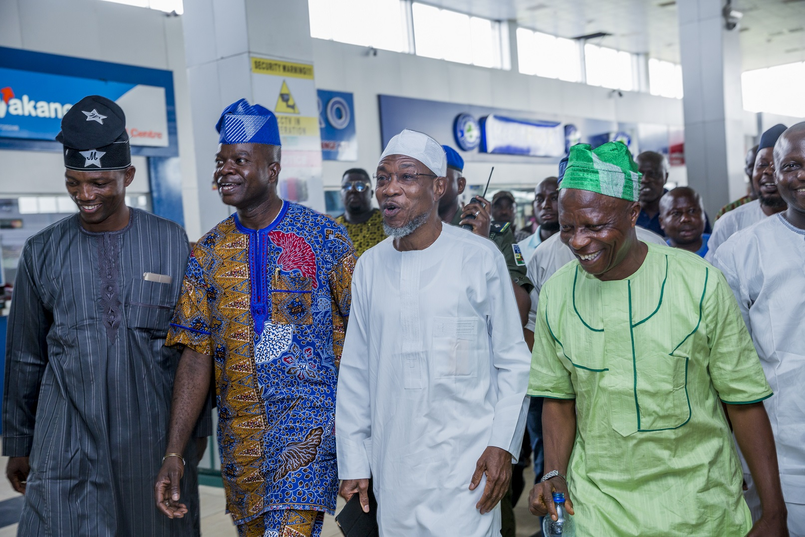 Aregbesola Receives Warm Welcome On Return From China