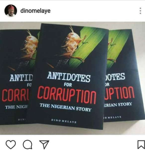 'Antidote To Corruption'- Dino Melaye's Book Launch