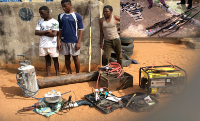 Illegal Firearms Factory Uncovered In Benue