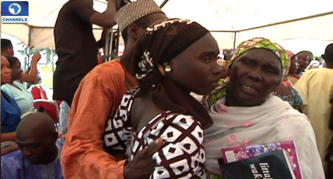Excitement As Parents Of 82 Released Chibok Girls Receive Good News