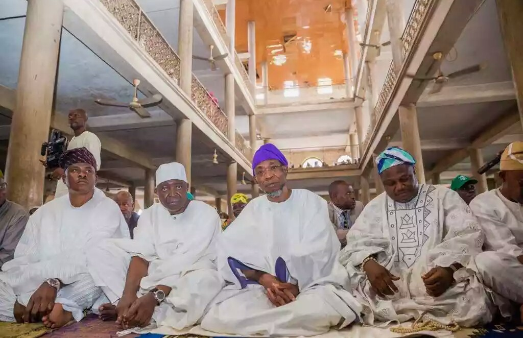Animasaun Prays For Aregbesola at 60; Urges Him to Remain Focused