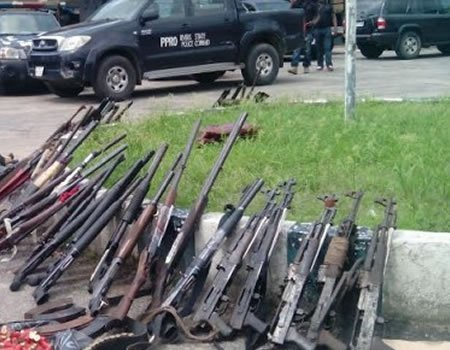 Big Catch, Many Neutralize, Weapons Recovery in Bama
