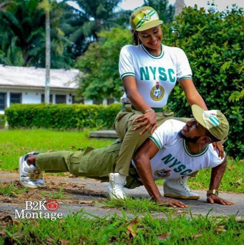See Pre-Wedding Shoot Of These Corps Members