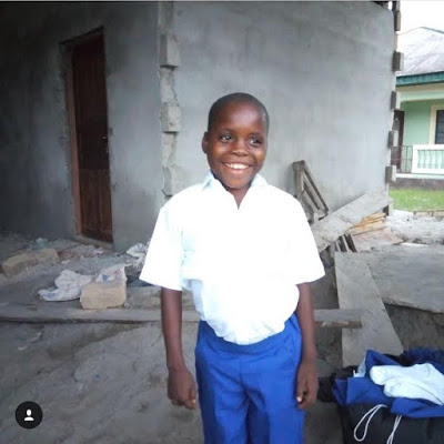 Davido Builds Home For The Little Boy Singing His Song In A Viral Video (photos)