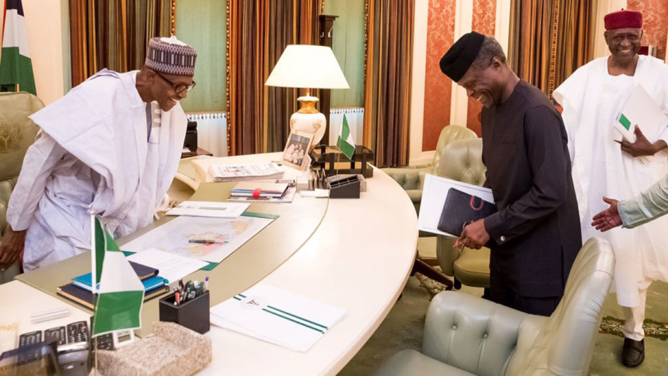 Osinbajo To Sign 2017 Budget On Buhari's Approval