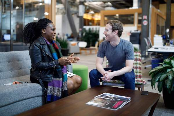 Mark Zuckerberg, Facebook Founder Meets Lola