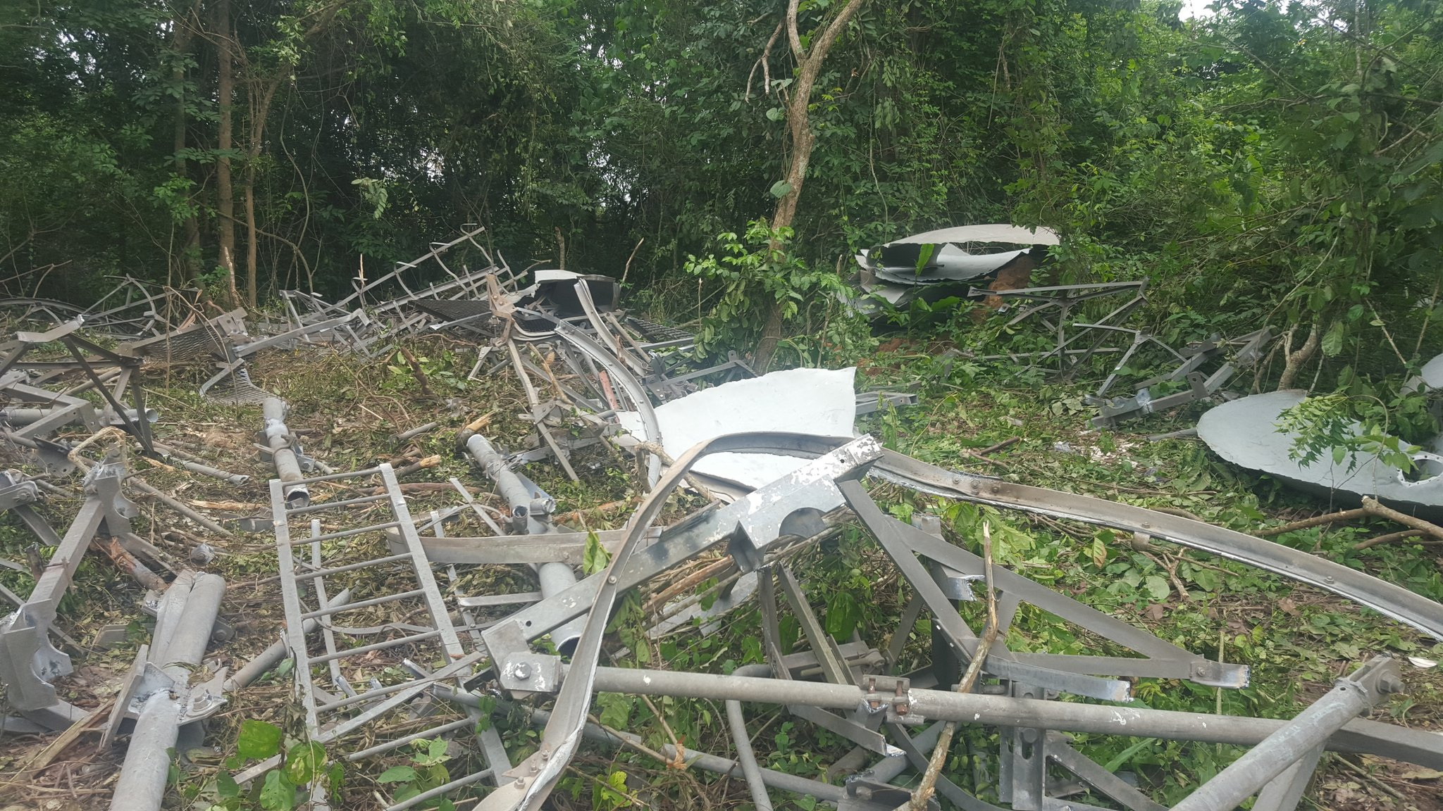 NTA Mast Destroyed In Osun by Vandals