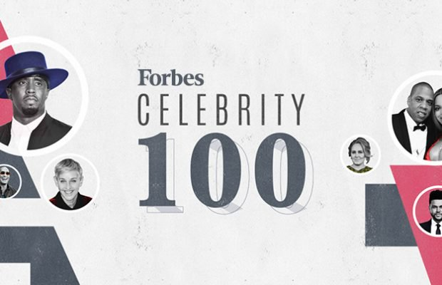 FULL LIST: The World's Highest Paid Celebrities of 2017