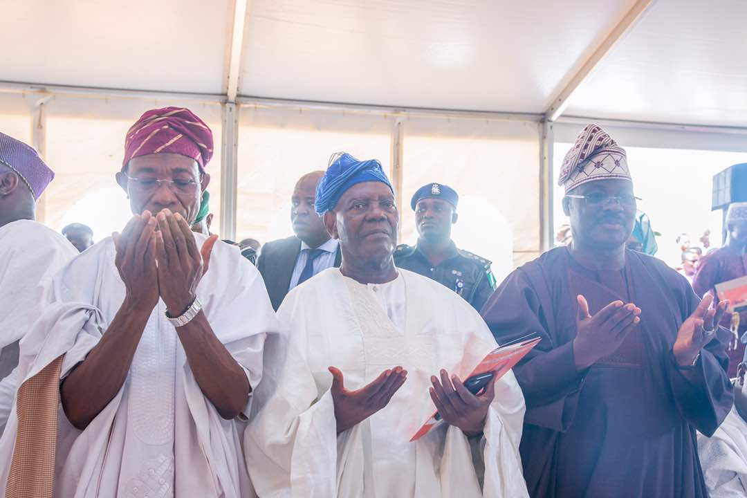 PHOTO STORY: Faces At Fidau Prayer of Chief Bisi Akande's Wife