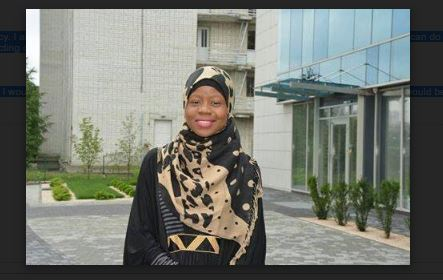 UNIOSUN Best Ukrainian Graduate, Lateefah Narrates How Aregbesola Rescued Her Dream From Crashing