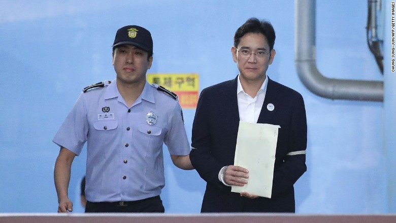 Samsung Chief Gets Jailed For Corruption