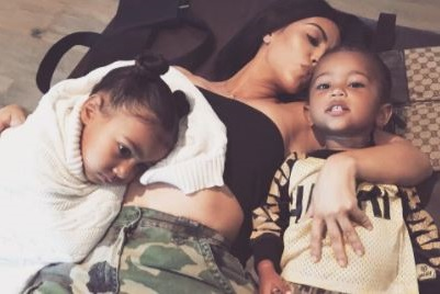 Kim K Reveals North West Doesn't Like Her Brother Saint