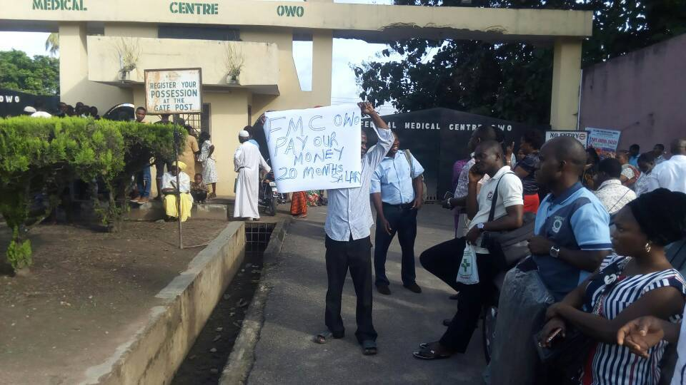 Ondo FMC Workers Lock Out Doctors, Patients From Entering Hospital