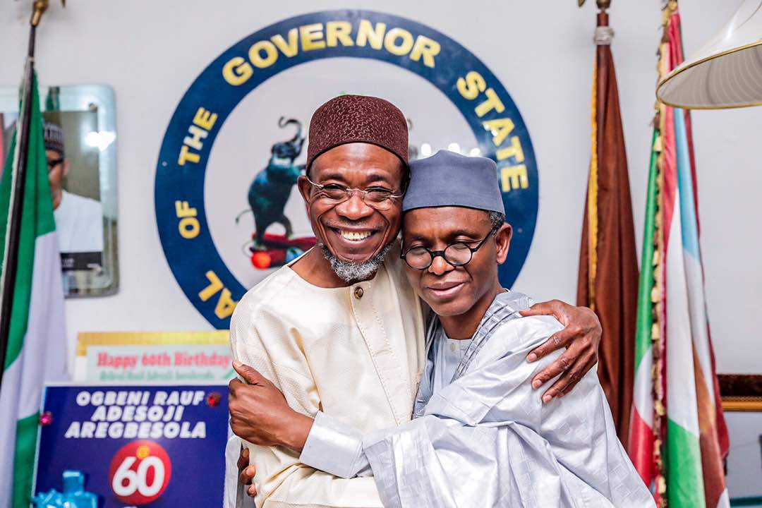 PHOTOS: Elrufai In Osun To Condole Aregbesola Over Mum's Death