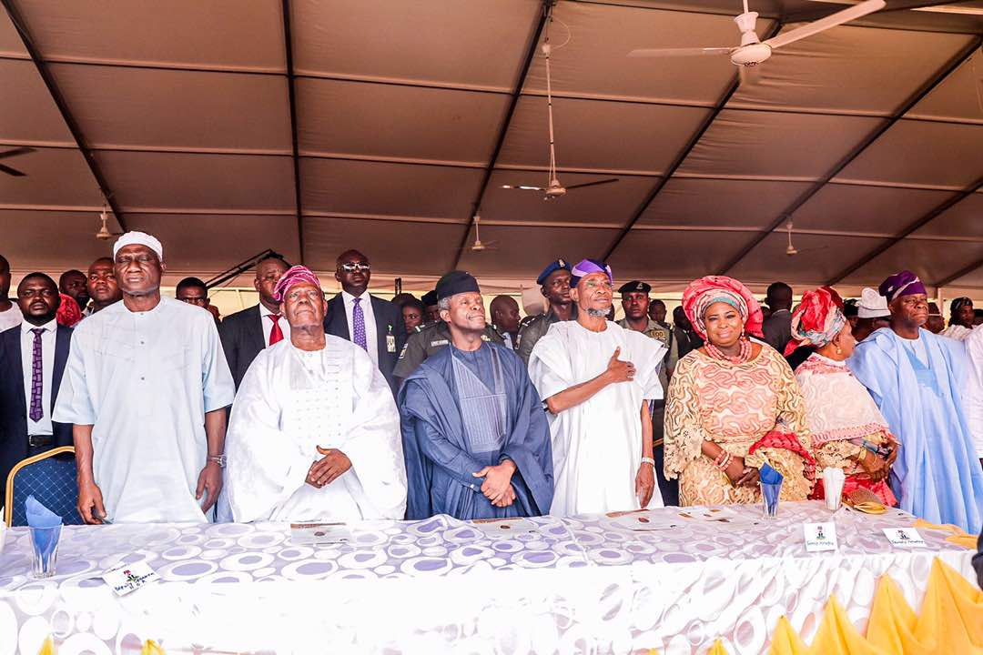 PHOTO STORY: Osinbajo, Govs, Others Storm Osun For 8-Day Fidau of Aregbesola's Mother