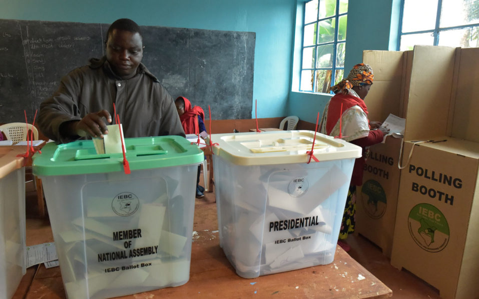 Large Turnout Of Voters Recorded In Kenya