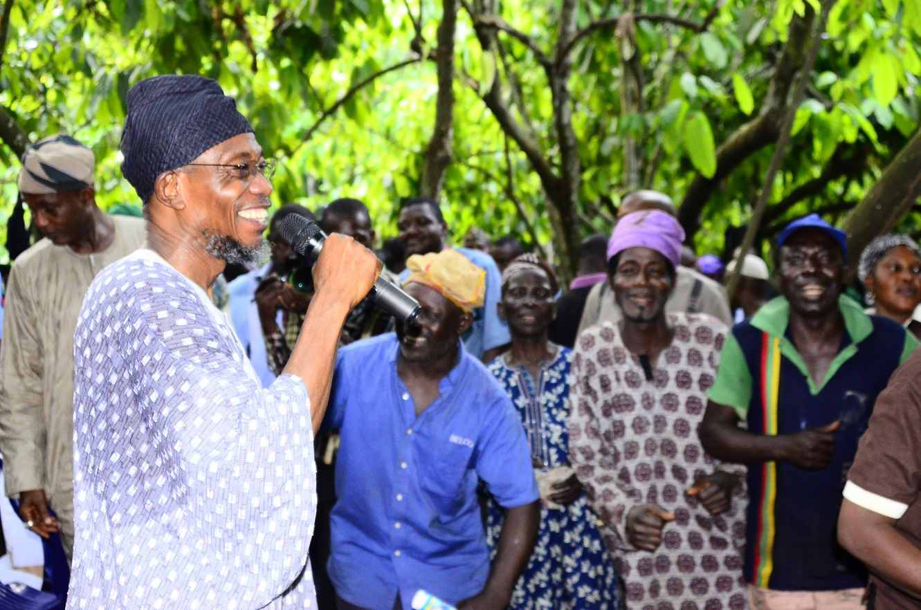 Aregbesola: It's Time We Return To Farming