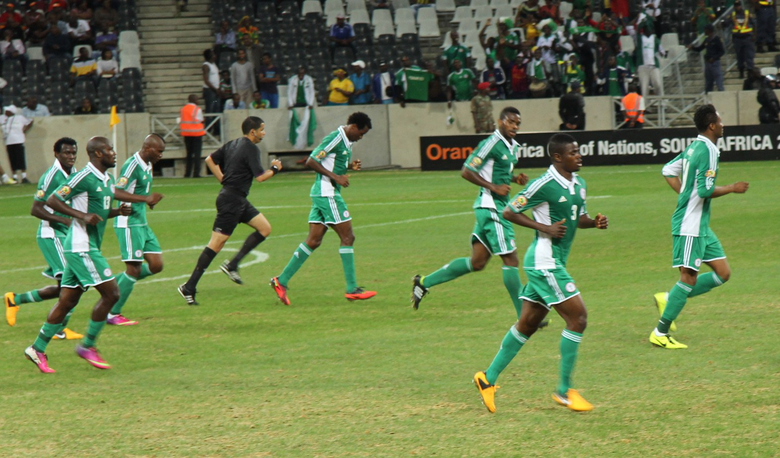 Nigeria Seal June Friendly With England