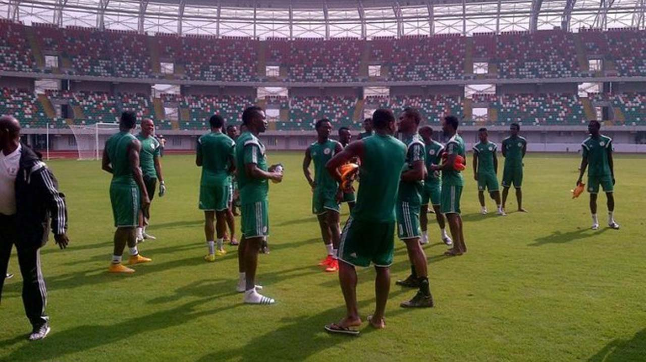 Eagles Arrive Uyo In Preparation For 2018 World Cup Qualifier