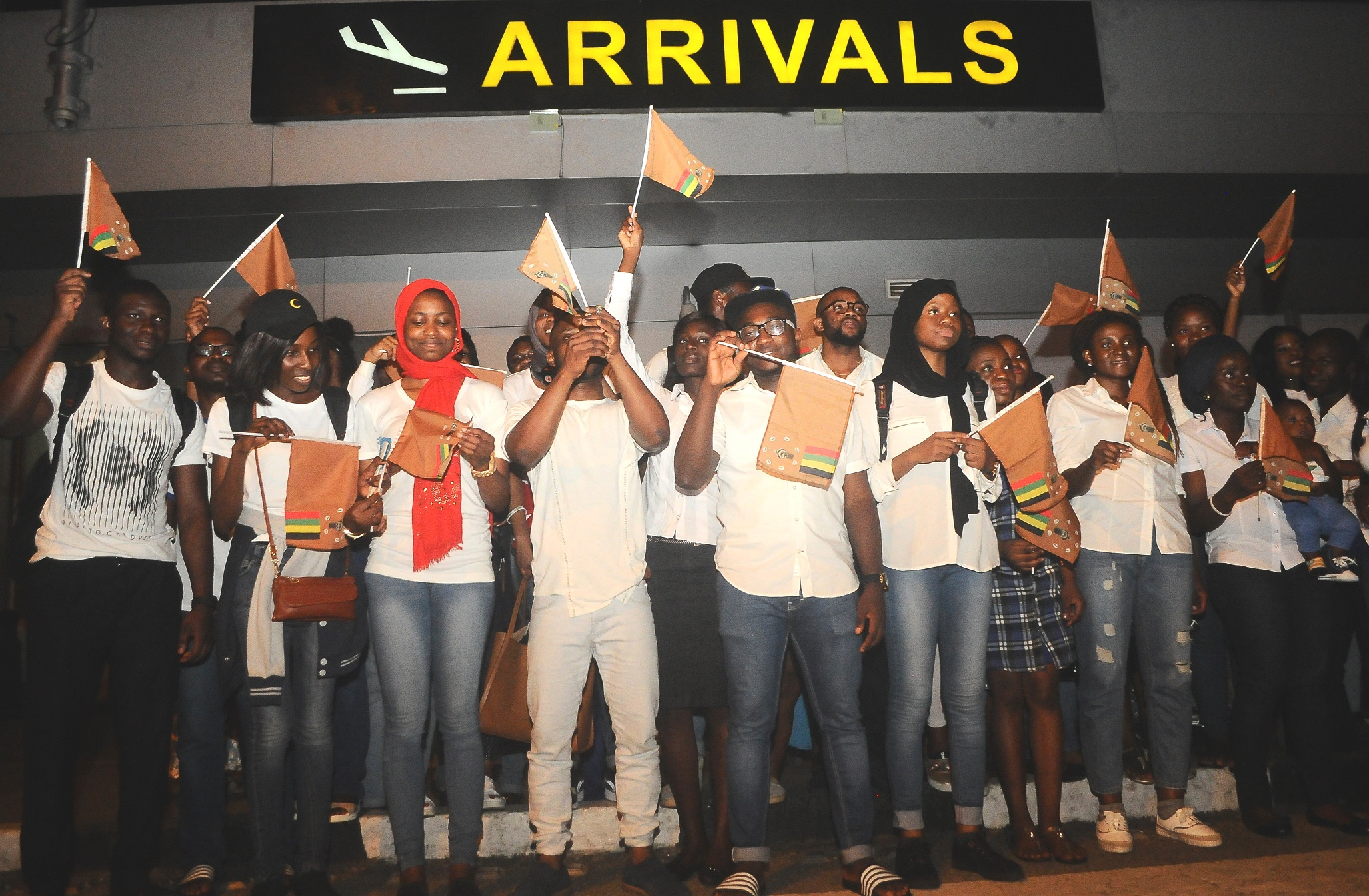 State Sponsored UNIOSUN Medical Students Arrive Nigeria From Ukraine
