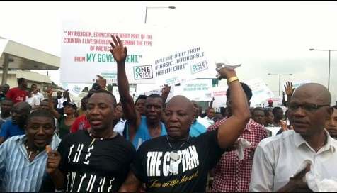 Dankwambo, Mimiko, PDP Paid N300 Million For Charly Boy's Anti-Buhari Protest